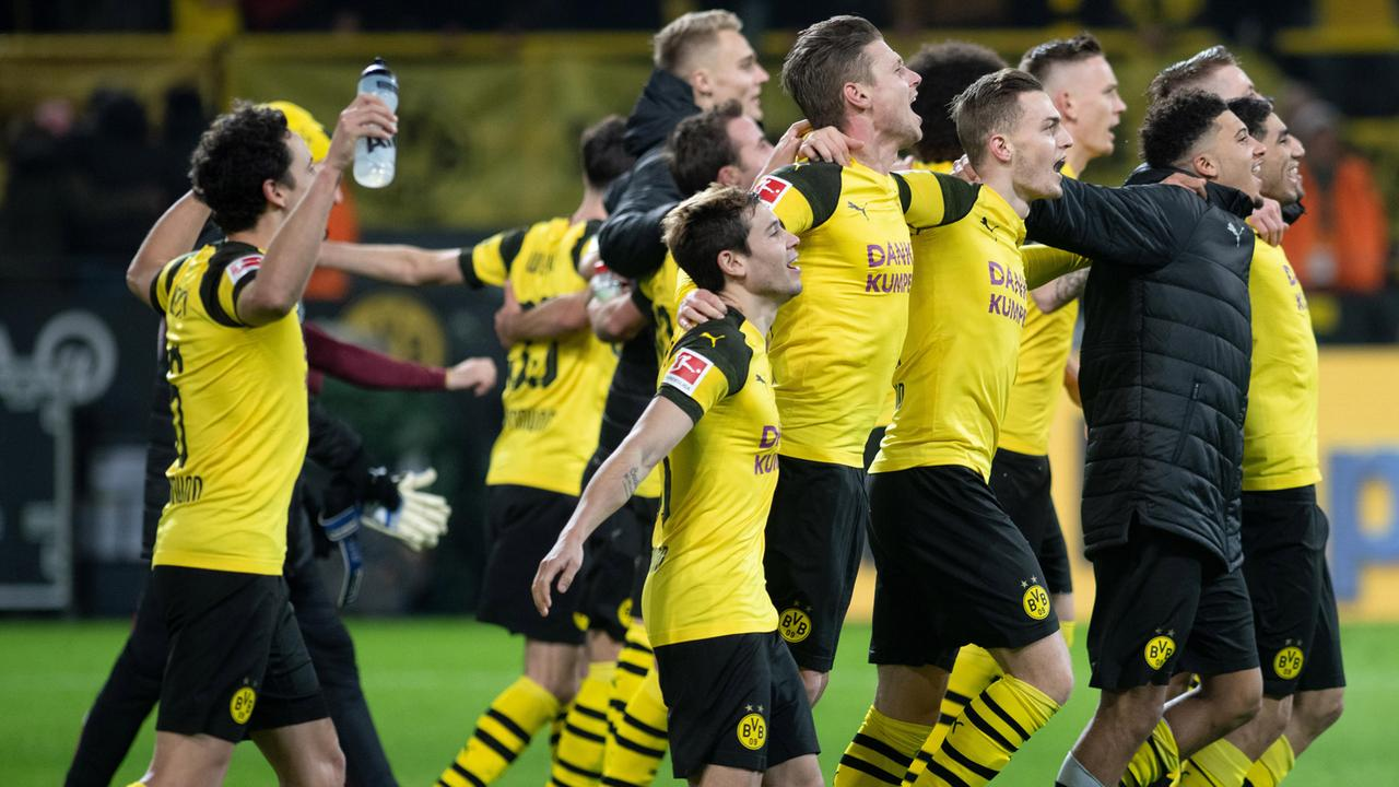 fußballbundesliga  bvb besiegt mönchengladbach
