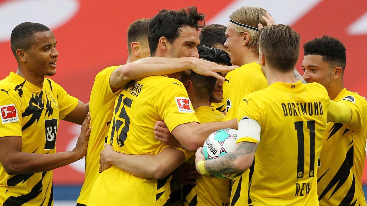Fußball-Bundesliga: Dortmund macht die Champions League klar