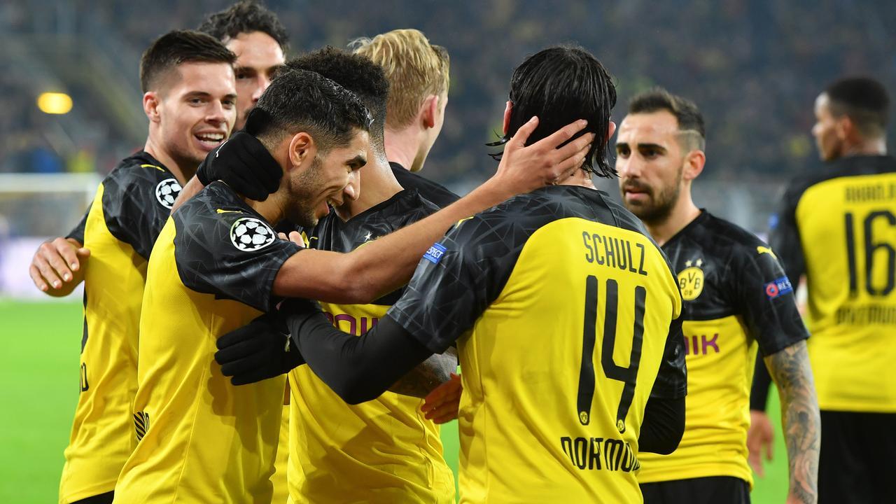 Dortmund Dreht Spiel Gegen Inter Leipzig Auf Kurs