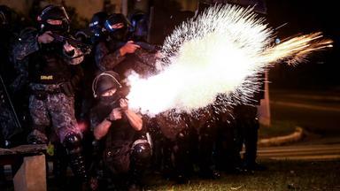 nationwide strike grips brazil, sao paulo - 28 apr 2017