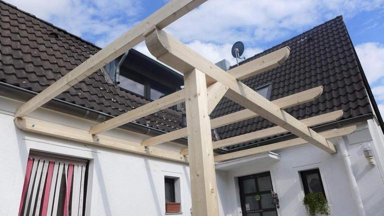 Wohnen und Design: Dach für die Terrasse - ZDFmediathek