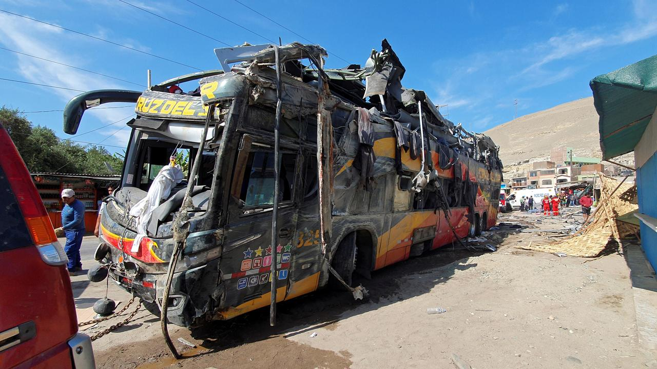 Busunglück Peru Deutsche