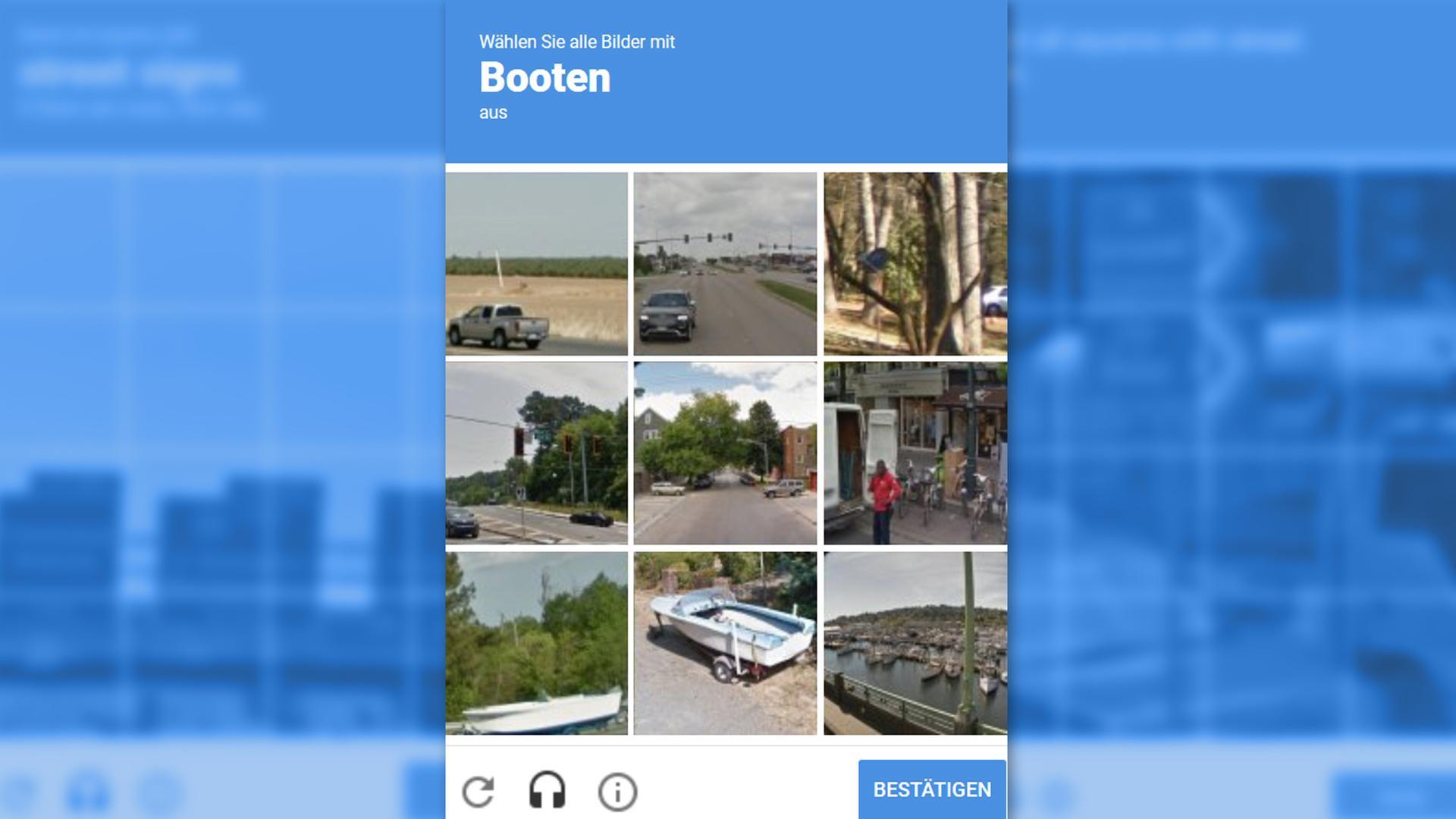 Test: Mensch oder Bot?: Google will Captchas unsichtbar