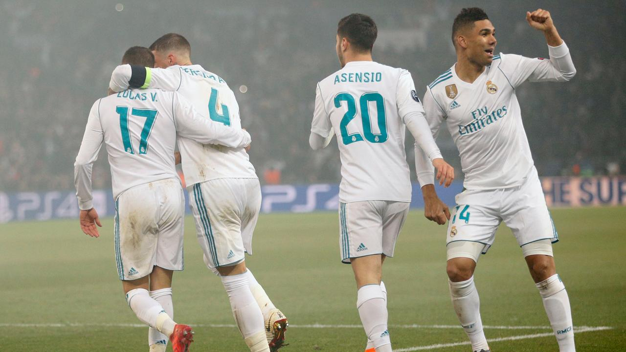 Image Result For Real Madrid Vs Psg Zdf