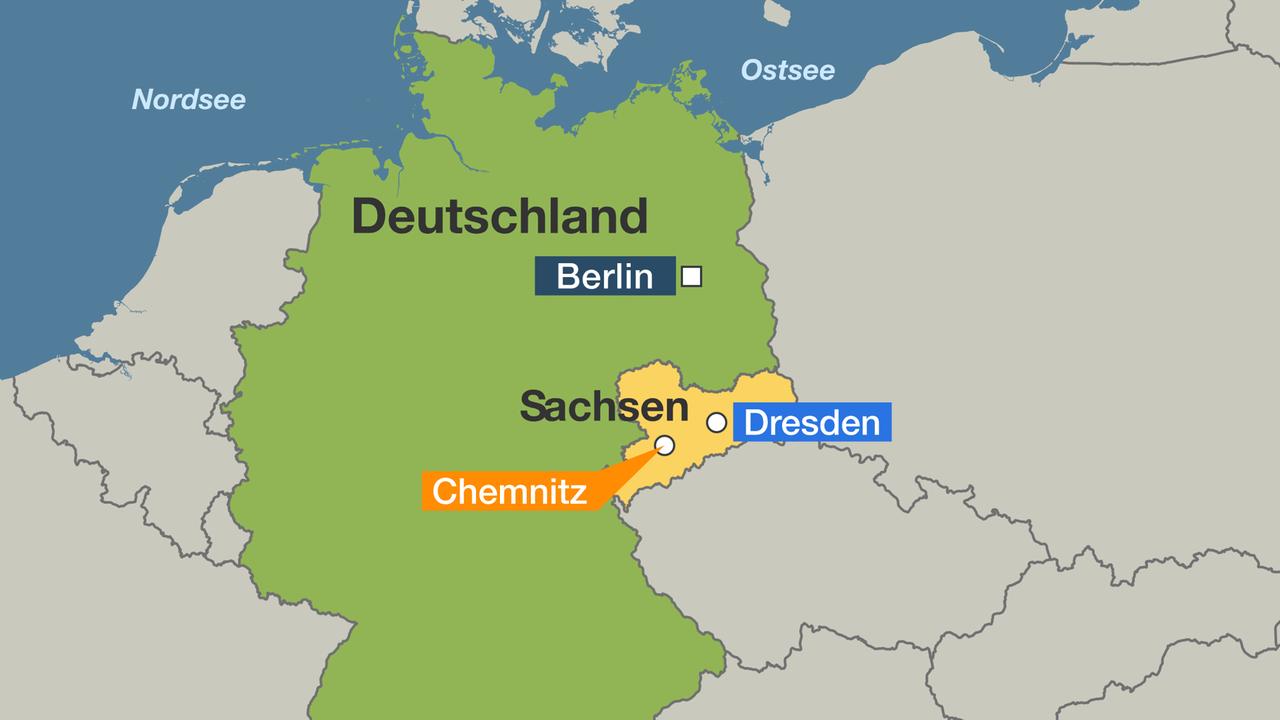 chemnitz karte deutschland Chemnitz   Stadt der vielen Gesichter   ZDFmediathek