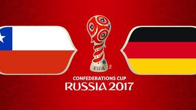 Zdf Sportextra - Confed Cup - Finale: Chile - Deutschland Am 2. Juli 2017