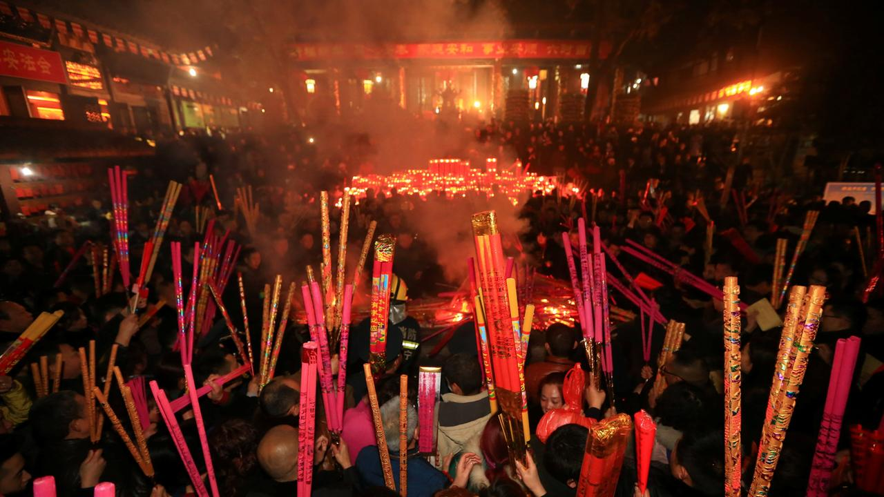 Chinesisches Neujahrsfest Hongkng - ZDFmediathek