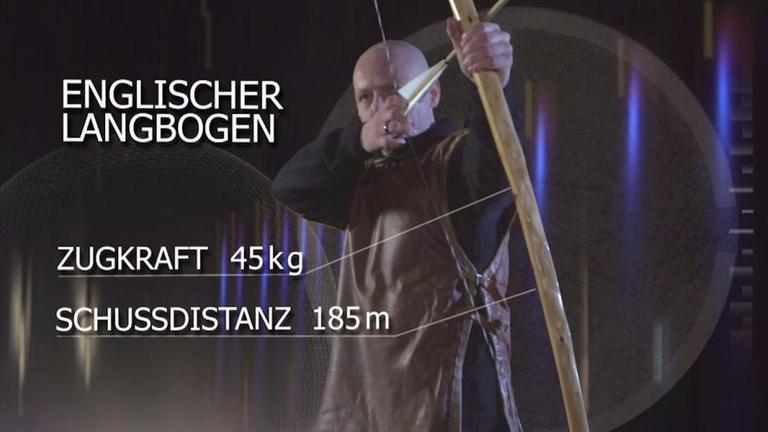 Clip-Vorschau Hightech-Experiment Langbogen aus Die Welt der Ritter