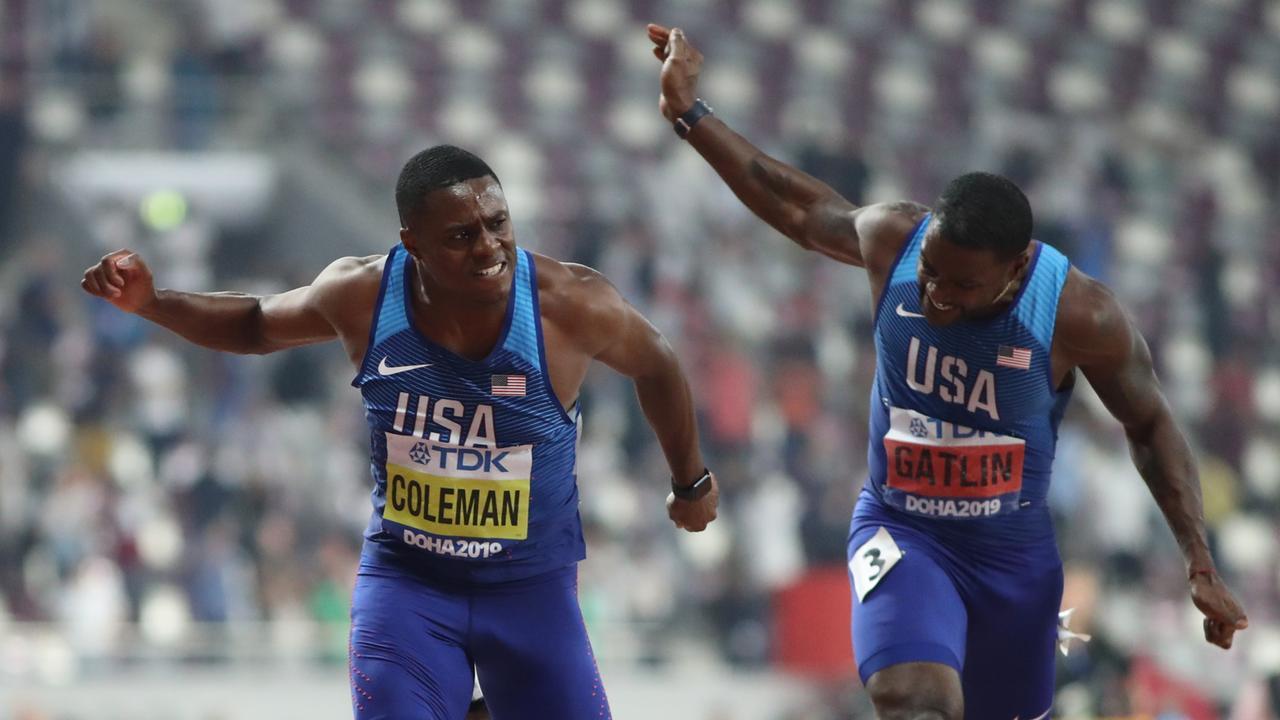 Leichtathletik-WM 2019: Coleman sprintet zu WM-Gold über 100m