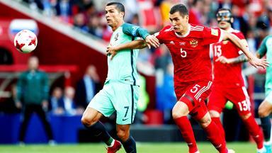 Zdf Sportextra - Fußball - Confed Cup: Russland - Portugal