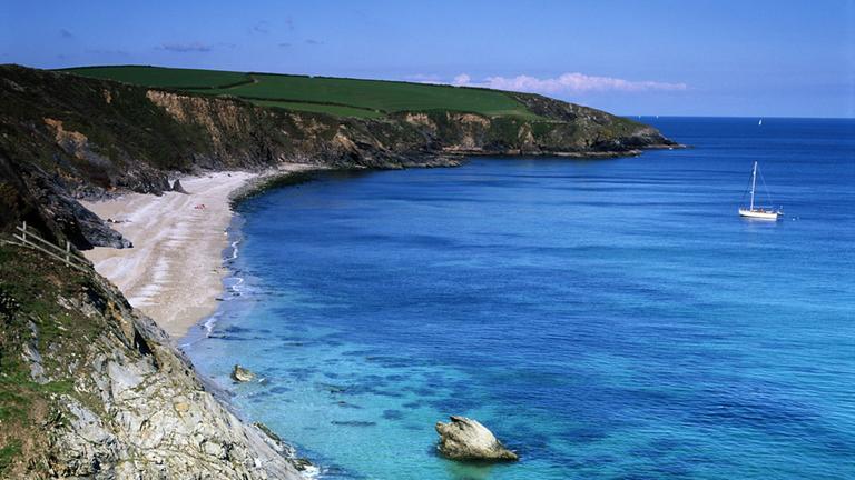 Küste von Cornwall