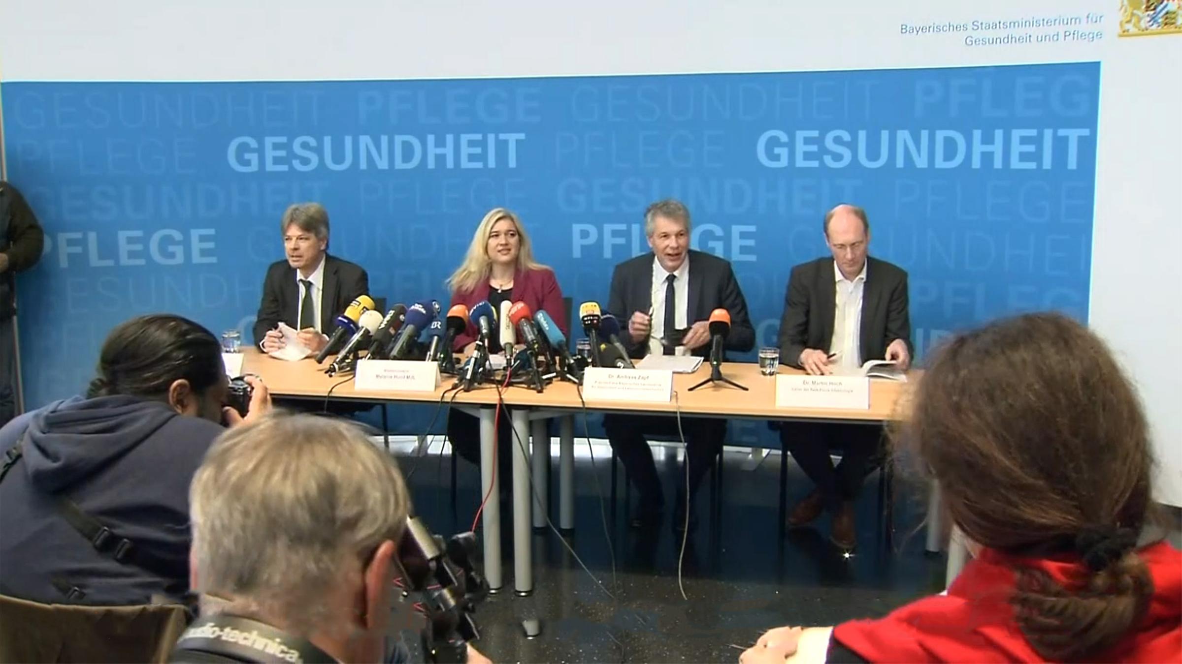 Pressekonferenz Coronavirus in Deutschland