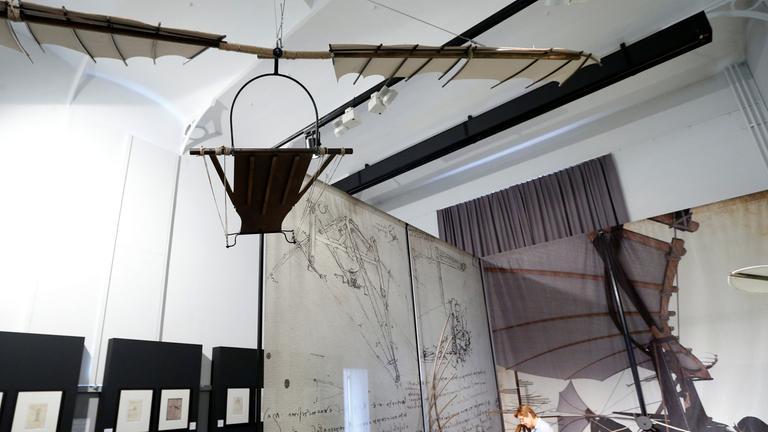 Da Vinci Ausstellung in Brügge