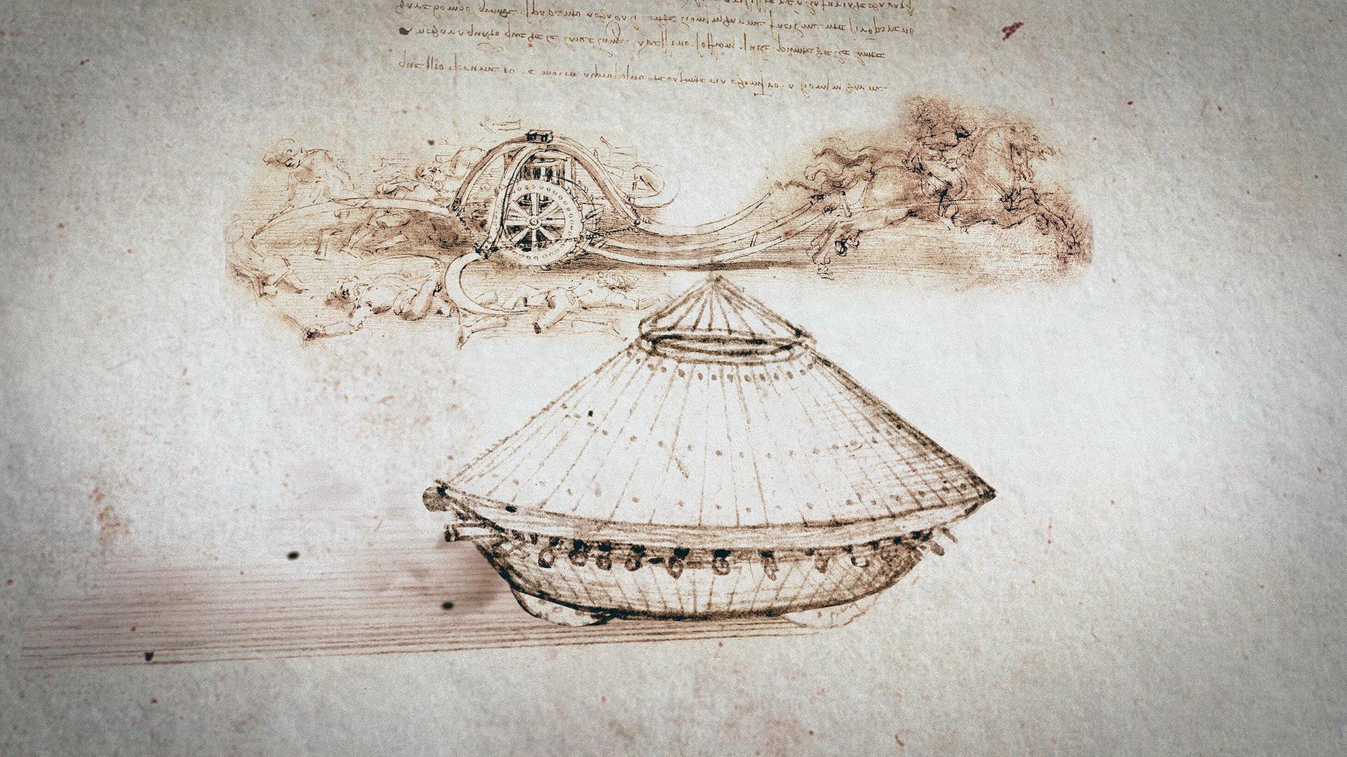 Leonardo da Vinci - Was erfand er wirklich? - ZDFmediathek