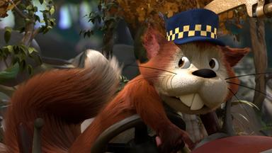 Drache Digby - Drache Digby: Das Aufpasserhörnchen