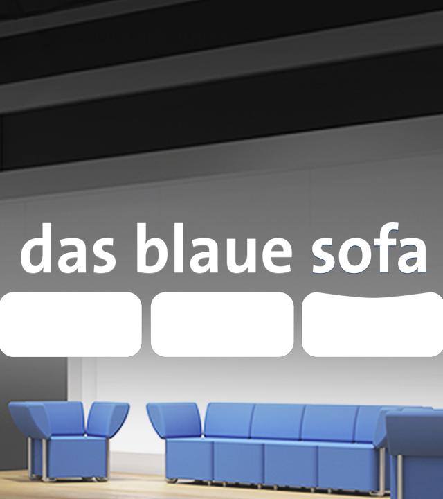Das blaue Sofa