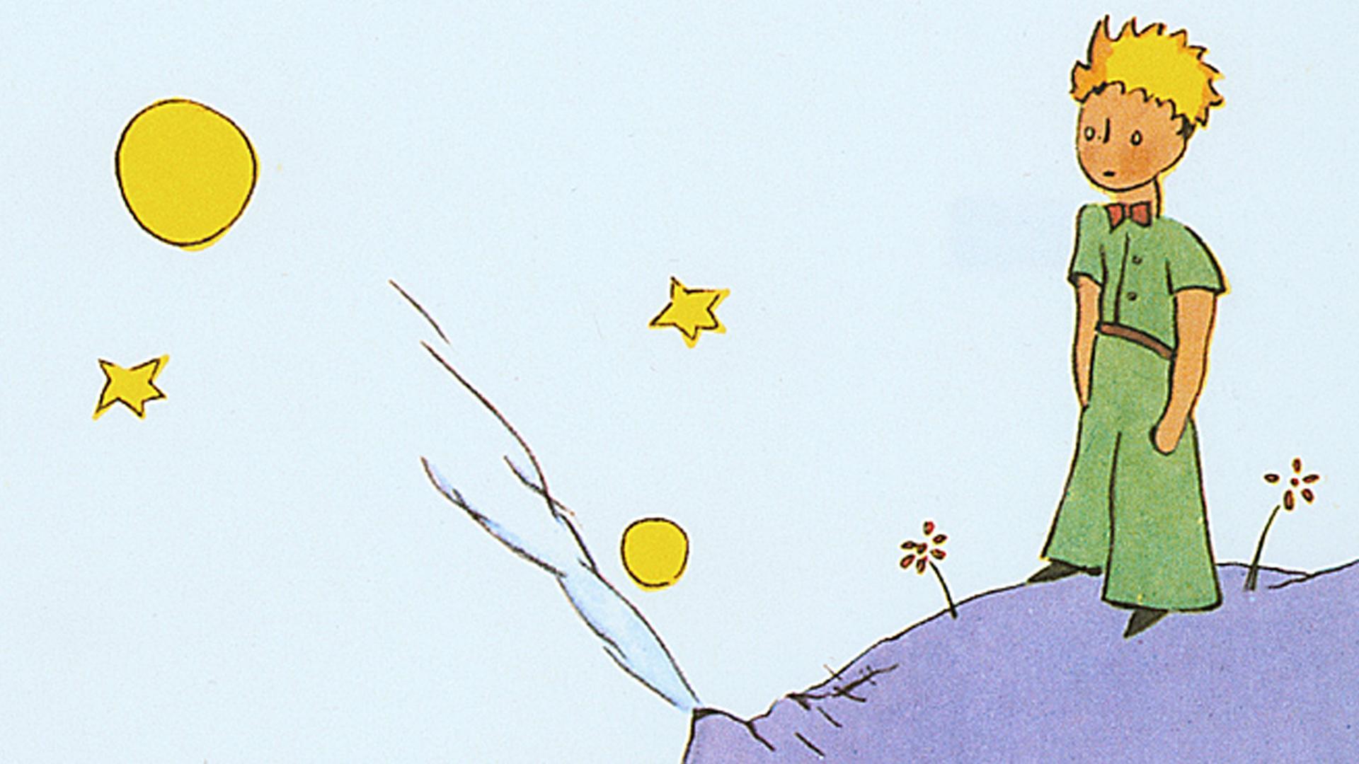Viel Gelesen Viel Zitiert Der Kleine Prinz Wird 75