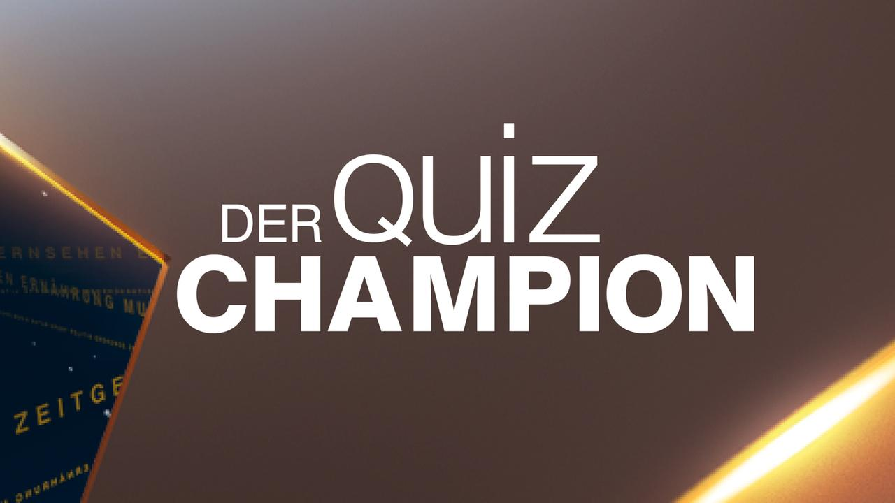 Quiz Champion Zdf