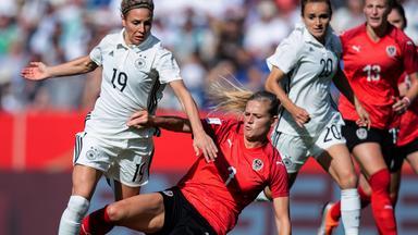 Zdf Sportextra - Fußball-länderspiel Der Frauen - Deutschland - österreich