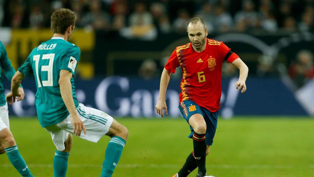 Deutschland Spanien Spiel