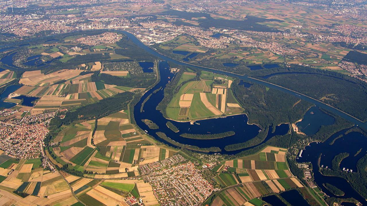 Deutschland von oben 1: Fluss