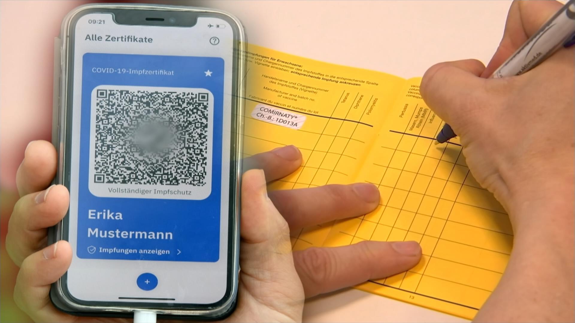 Digitaler Corona Impfpass Startet Nachweis In Apps Moglich Zdfheute