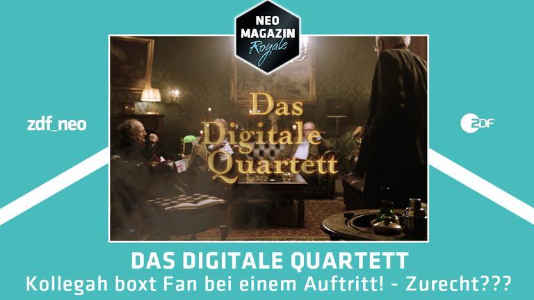 Das Digitale Quartett zu Kollegah im NEO MAGAZIN ROYALE