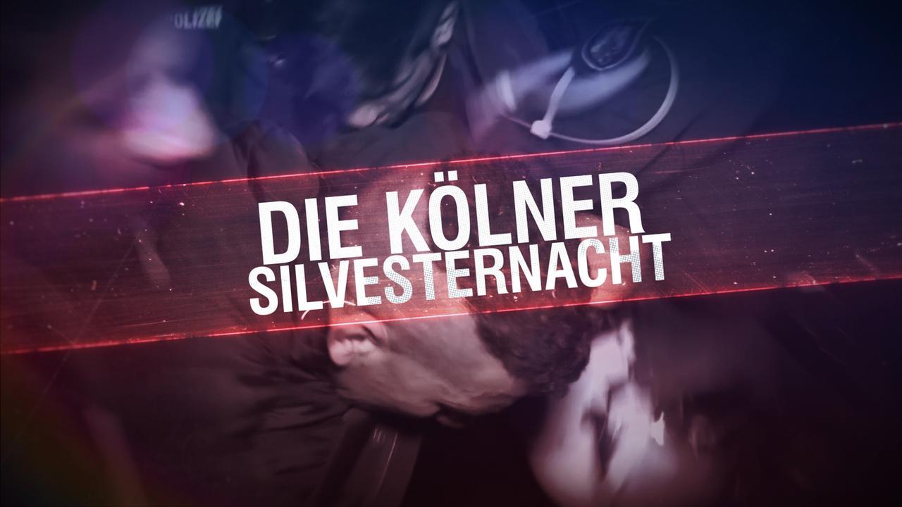 Titelgrafik: Die Kölner Silvesternacht mit Hintergrundmotiv