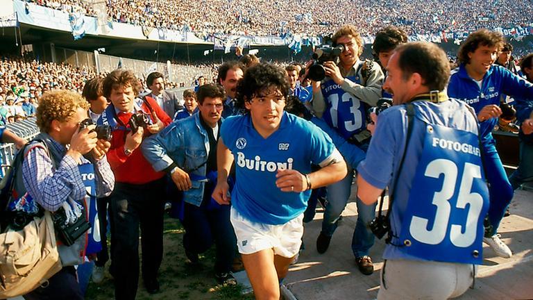 """Szenen eines Fußballerlebens: """"Diego Maradona"""""""