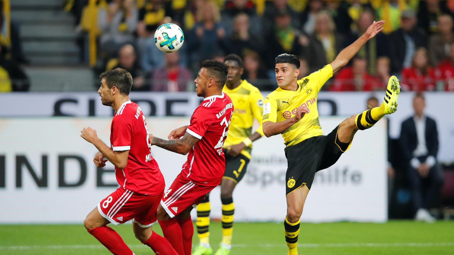 Dortmunds Mahmoud Dahoud in Aktion