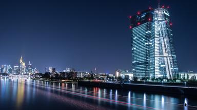 Das Gebäude der EZB in Frankfurt am Main.