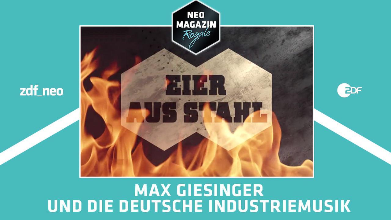 Eier aus Stahl - Max Giesinger und die deutsche Industriemusik