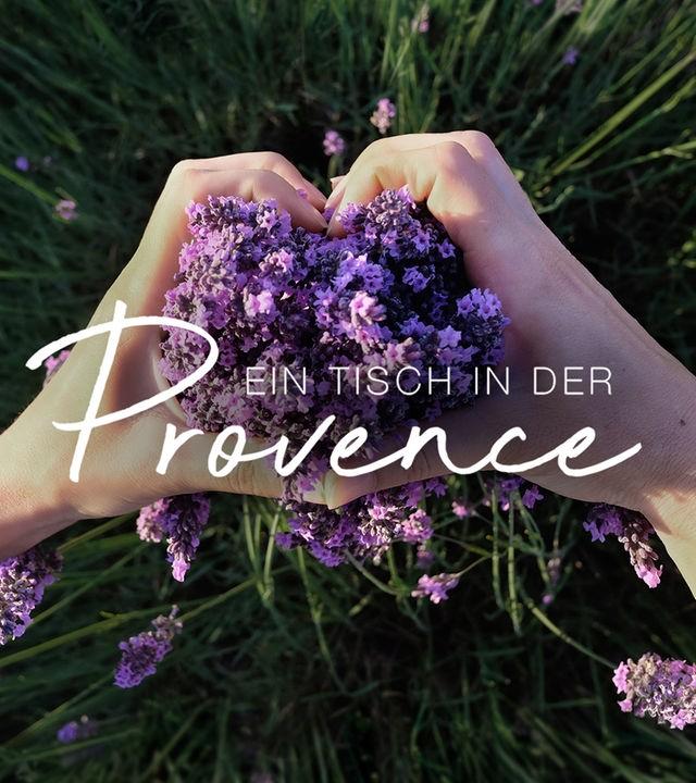 Ein Tisch in der Provence