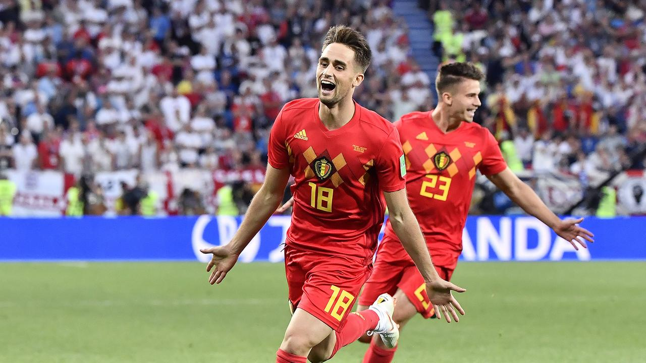 Belgien England