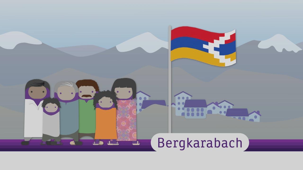 Logo Warum In Bergkarabach Gekampft Wird Zdftivi