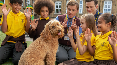 Wuffel, Der Wunderhund - Wuffel, Der Wunderhund: Die Erste Hausaufgabe