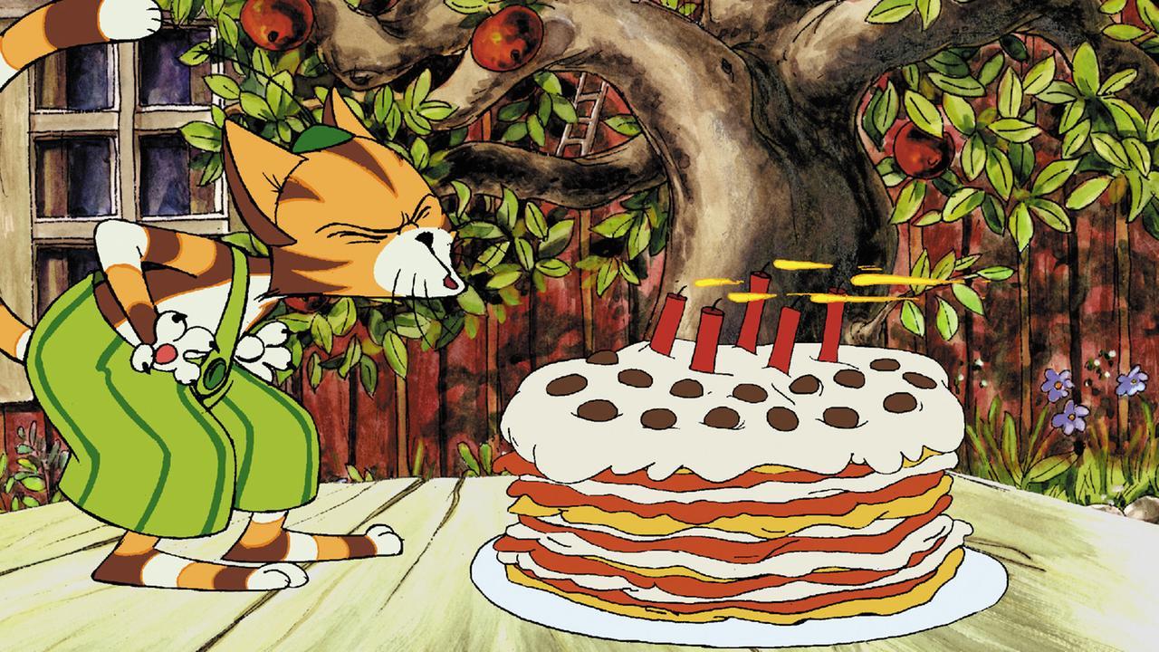 Pettersson Und Findus Eine Geburtstagstorte Fur Die Katze
