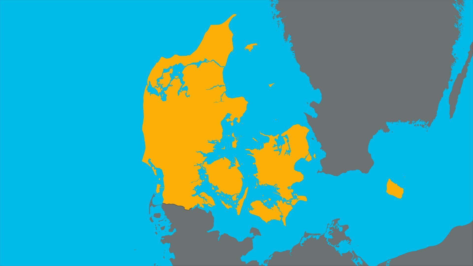 deutschland dänemark landkarte logo!: Dänemark   ZDFtivi