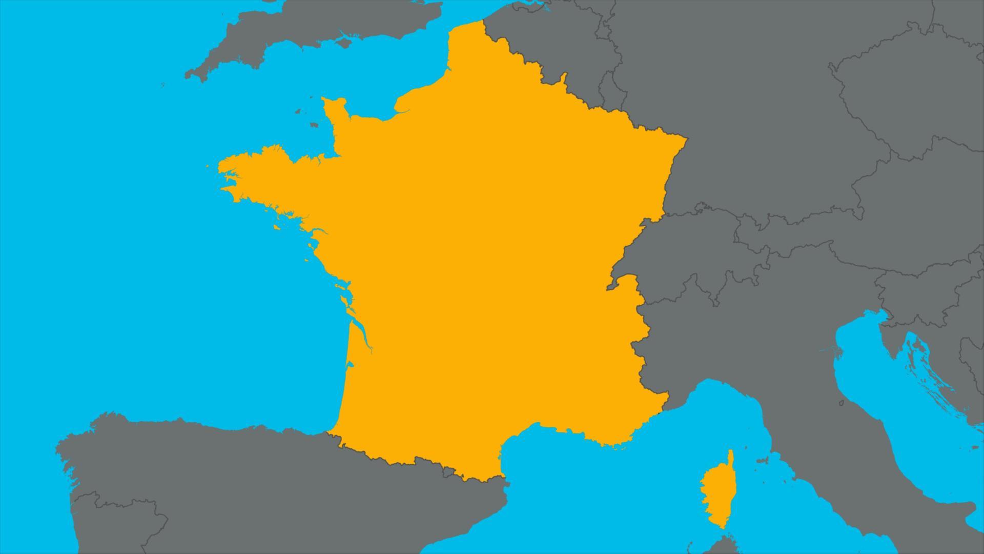 Karte Italien Frankreich.Logo Frankreich Zdfmediathek