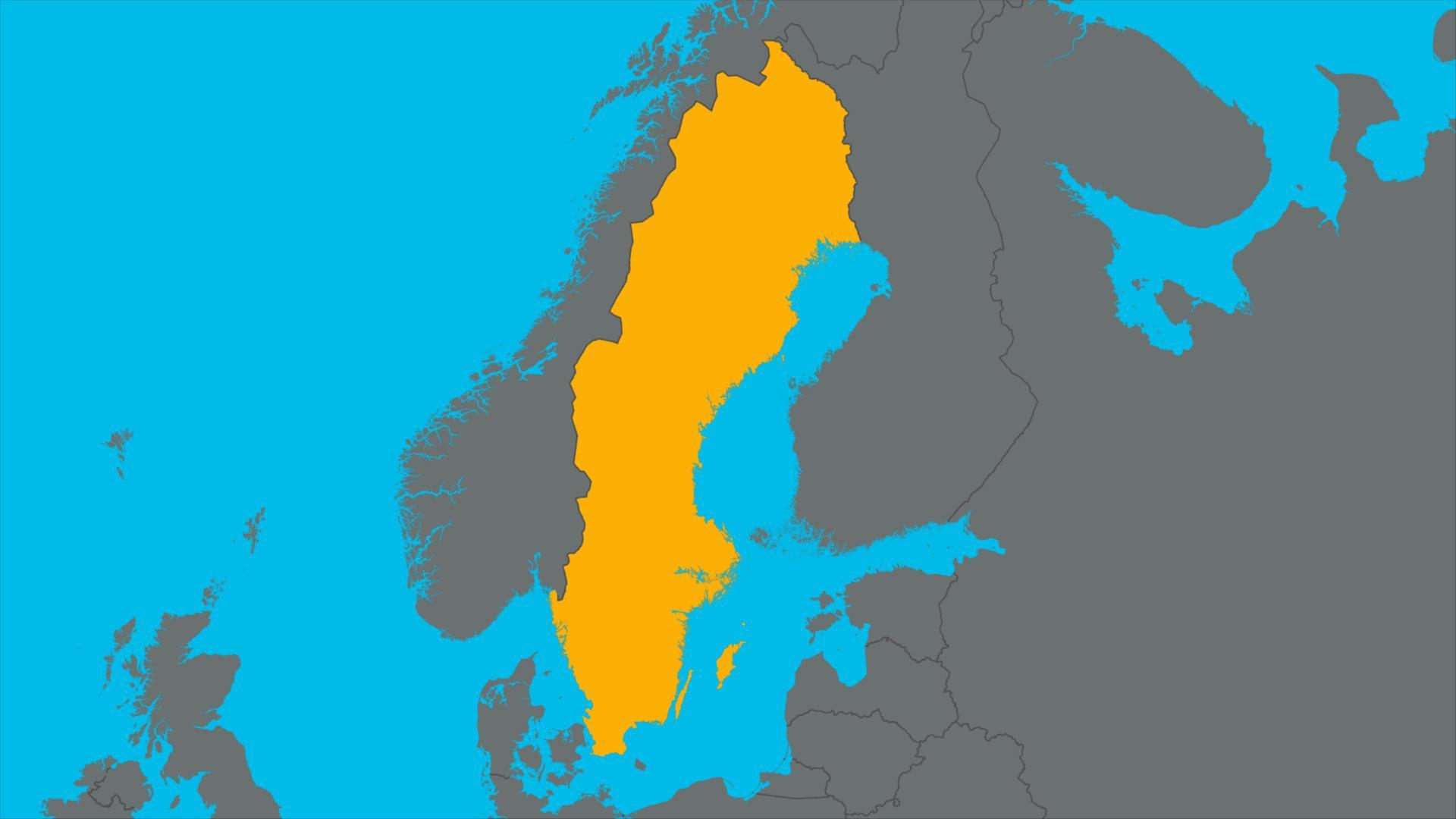karte deutschland schweden logo!: Schweden   ZDFtivi