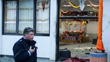 Explosion in einem Sikh-Gebetshaus in Essen