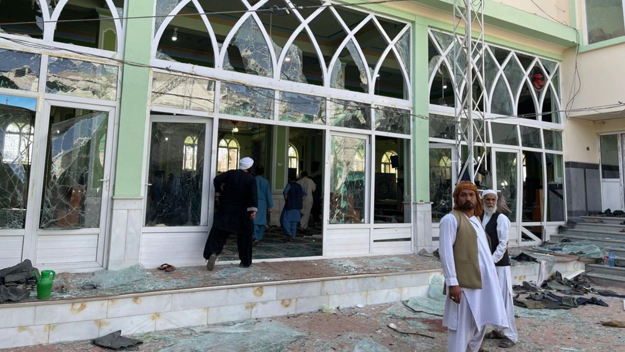Moschee in Afghanistan: Mindestens 30 Tote nach Explosion