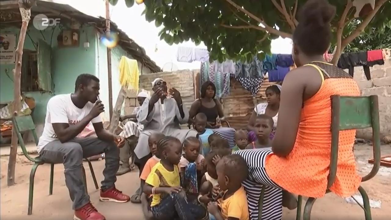 Bild ZDF - Fluchtursachen in Gambia bekämpfen