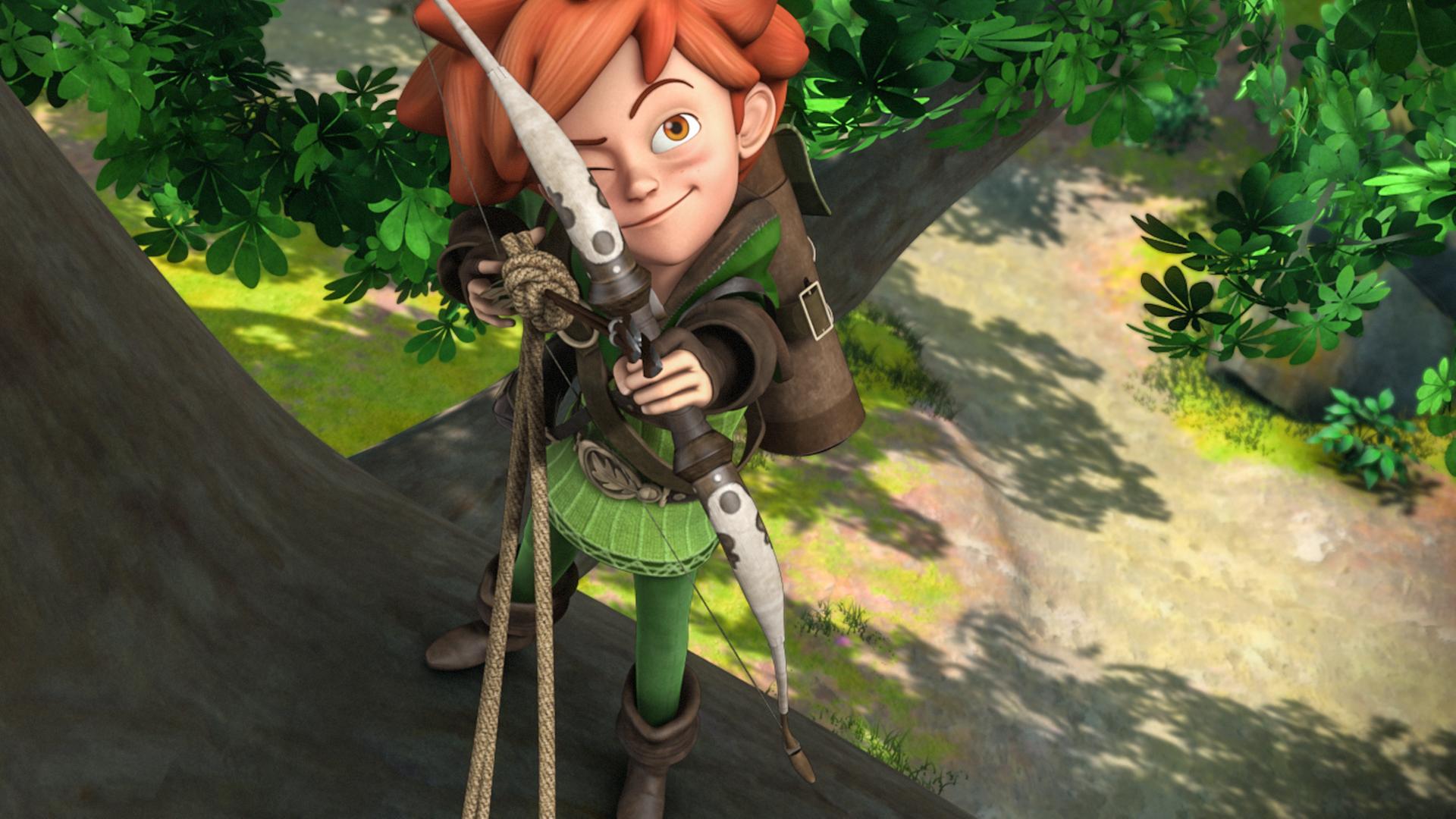 robin hood malvorlagen kika