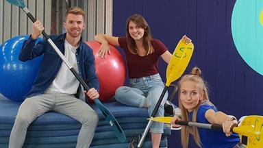 Zdftivi: Die Sportmacher - Die Sportmacher: Mülltonnenrennen Und Kanu-slalom