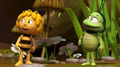 Die Biene Maja: Abenteuer Auf Der Klatschmohnwiese - Die Biene Maja: Der Mistkugelwettbewerb