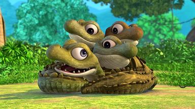 Das Dschungelbuch - Das Dschungelbuch: Das Regenbogen-krokodil