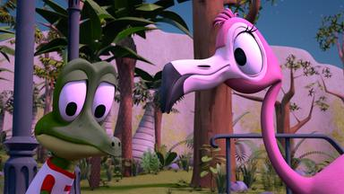 Zacki Und Die Zoobande - Zacki Und Die Zoobande: Der Flamingo-mond-tanz