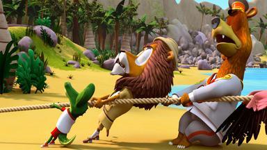 Zacki Und Die Zoobande - Zacki Und Die Zoobande: Der Spieletag