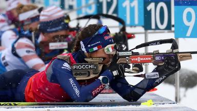 Zdf Sportextra - Biathlon In Antholz: 15 Km Einzel Der Frauen In Voller Länge